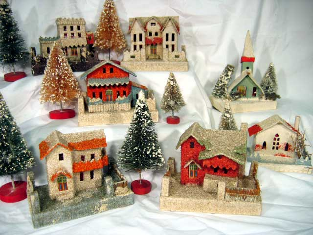 Online auction prices realized for old cardboard christmas - Creer sa deco de noel ...
