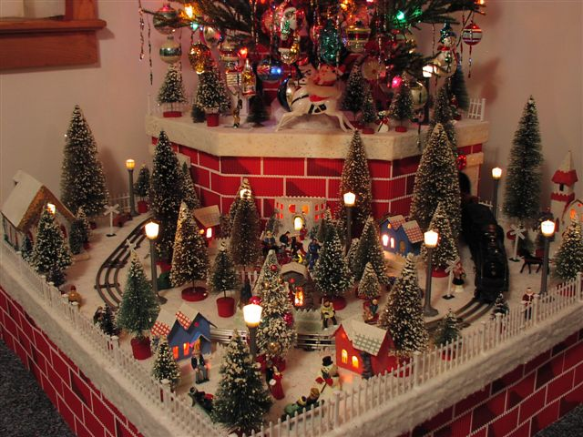 Christmas Village Putzes And Train Layouts Submitted For 2003